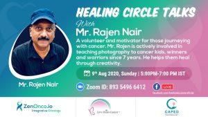 Healing Circle Talks- Rajen Nair
